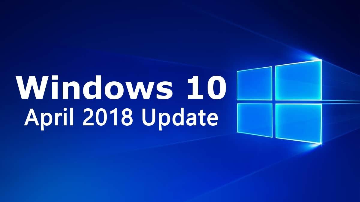 Microsoft – เตรียมอัพเดทได้ …. Windows 10 April 2018 Update จะถูกปล่อยออกมาภายในอาทิตย์นี้